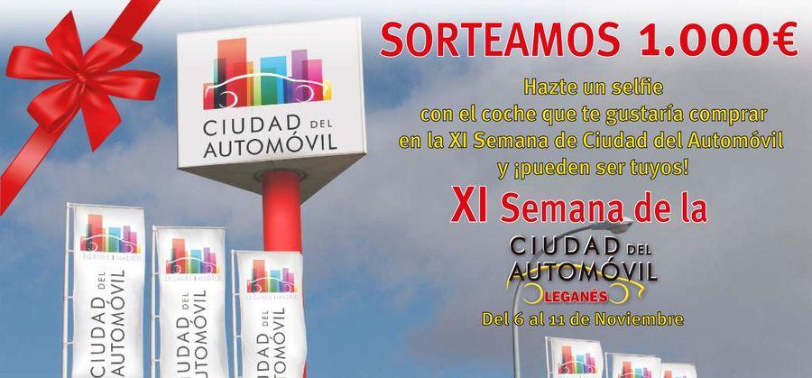 La XI edición de la Semana de la Ciudad del Automóvil de Leganés regala un cheque de 1.000€