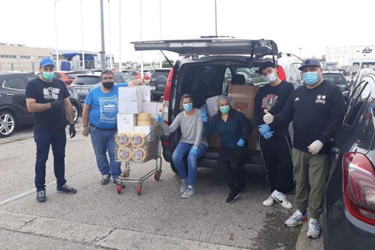 25 días de ayuda solidaria al Hospital Severo Ochoa