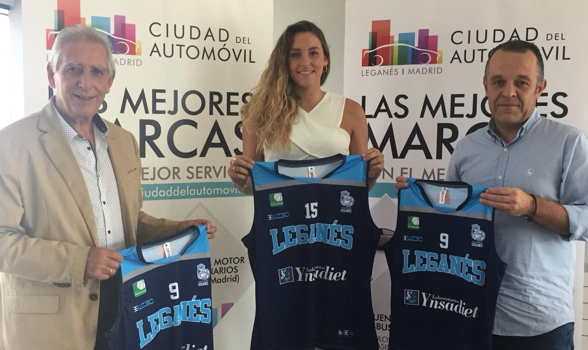 Ciudad Automóvil Patrocina al Club de Baloncesto de Leganés