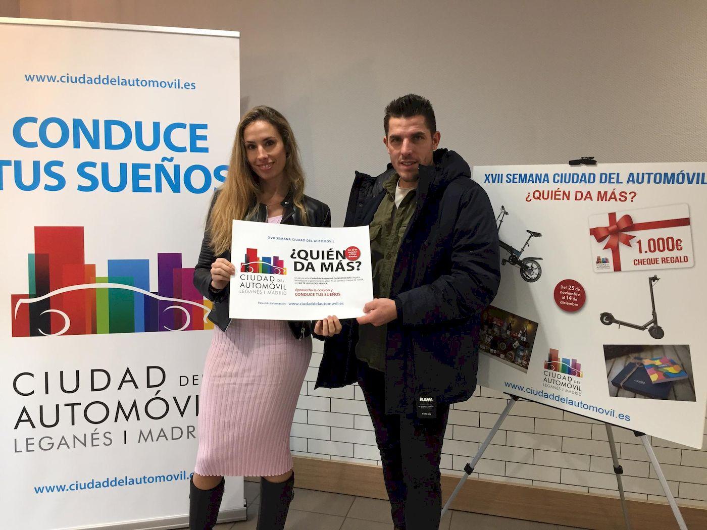 Entrega de 5 regalos a los ganadores de la XVII SEMANA CIUDAD DEL AUTOMÓVIL
