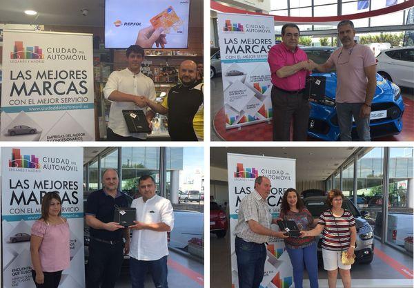 Entrega de premios a los ganadores de las Tarjetas Regalo Experiencias Ruralka