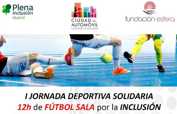 Ciudad del Automóvil colabora con Fundación Esfera en su torneo de fútbol solidario