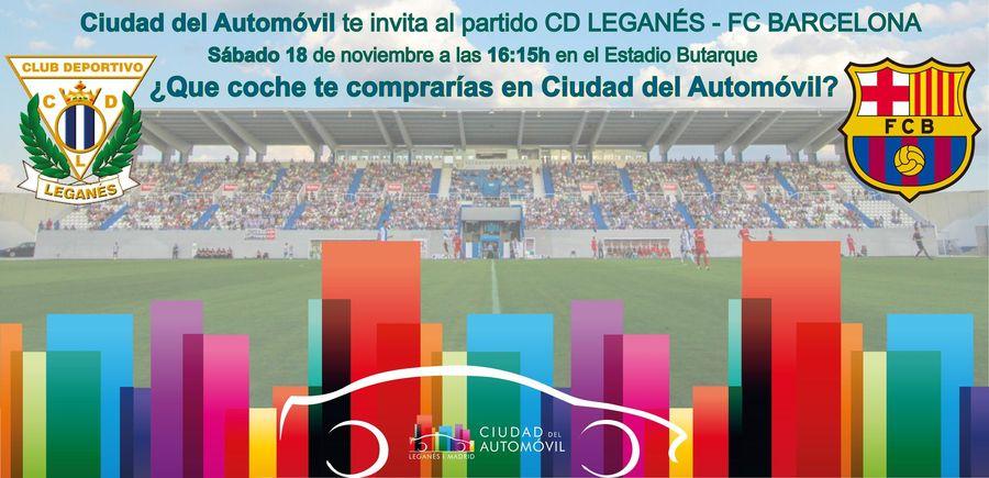 Jose Manuel Gil González, ganador de nuestro concurso para ver al Club Deportivo Leganés vs FC Barcelona