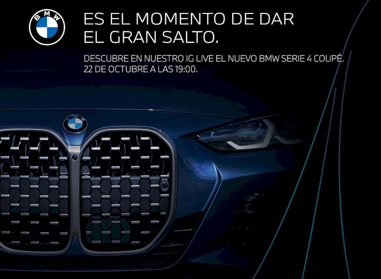 Momentum Motor presenta en primicia el nuevo BMW Serie 4 Coupé