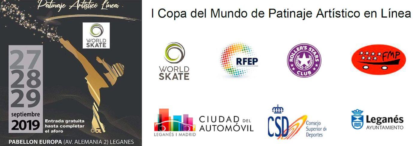 Ciudad del Automóvil patrocina la I Copa del Mundo de Patinaje Artístico en Línea