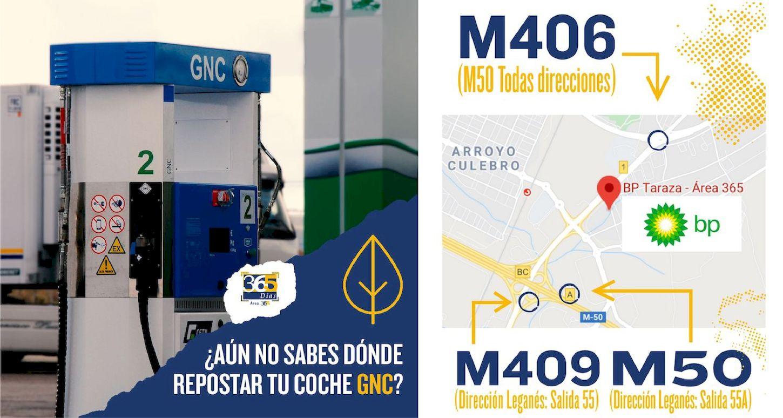 La ES BP Taraza inaugura un nuevo punto de recarga de GNC en Leganés