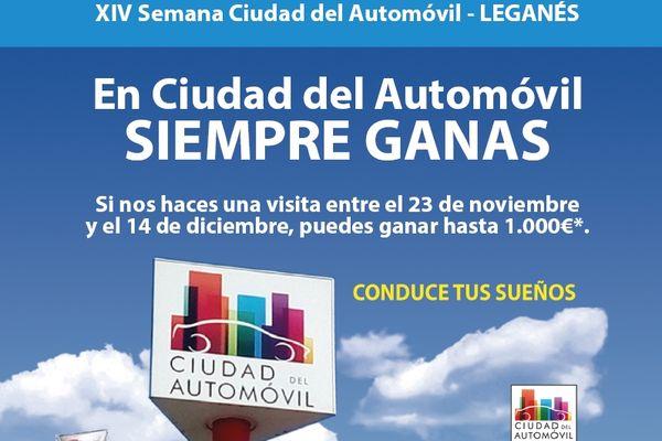 XIV SEMANA CIUDAD DEL AUTOMÓVIL DE LEGANÉS