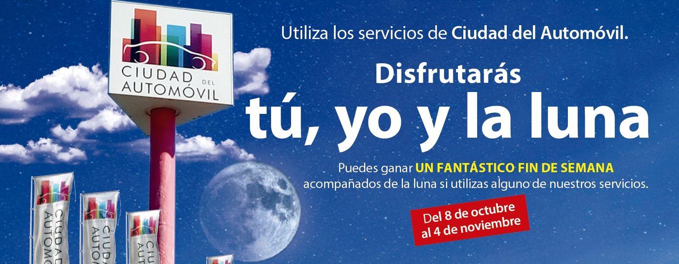 Sorteo fin de semana bajo la luna con Ciudad del Automóvil de Leganés